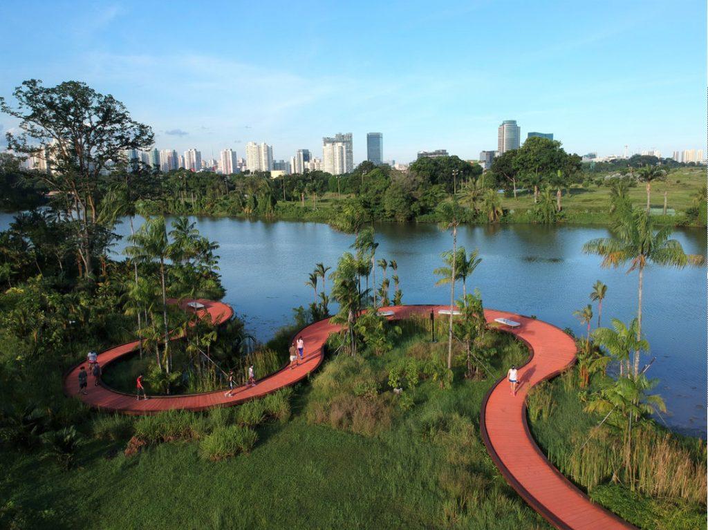 Jurong Lake Gardens 自動運転コース
