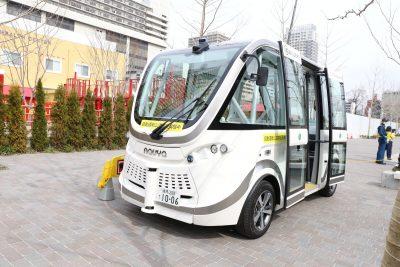 池袋 東京都自動運転プロジェクト 実証実験イメージ