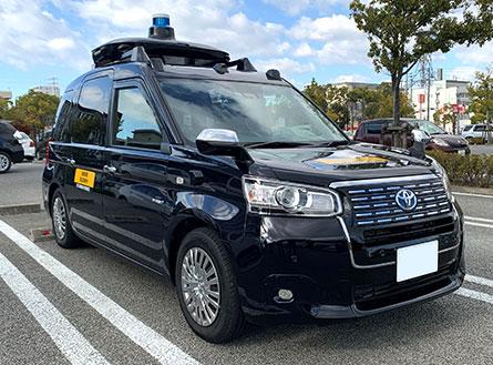 自動運転 ジャパンタクシー