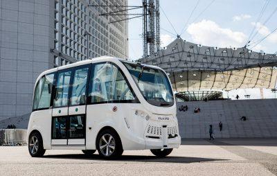 ナビア 自動運転シャトルバス