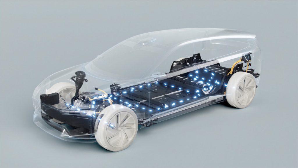 ボルボ・カーズ EVバッテリーイメージ