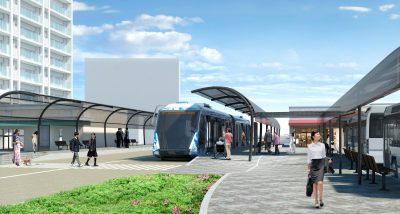 自動運転・隊列走行BRT イメージ