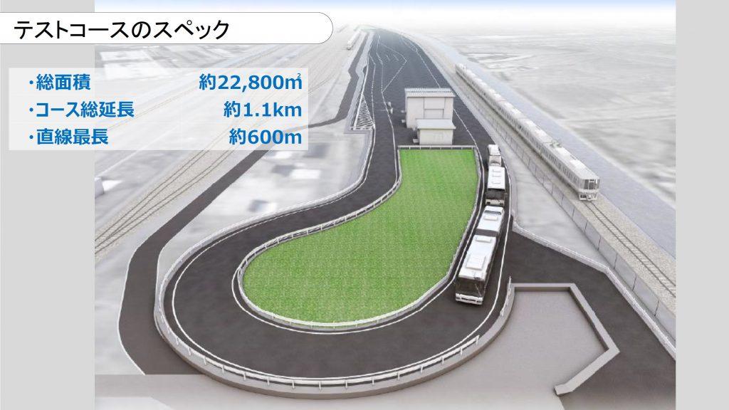自動運転・隊列走行BRT テストコーススペック
